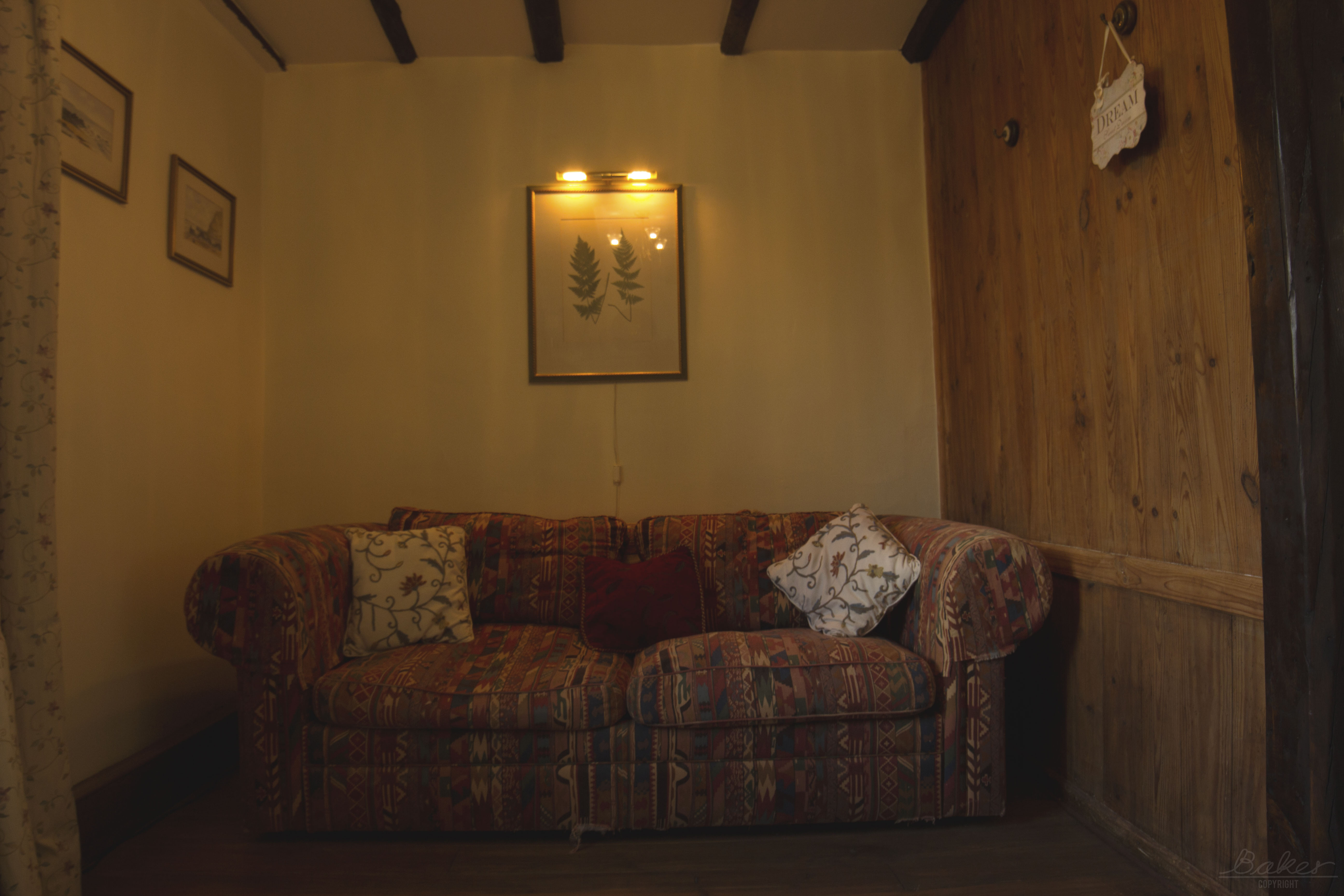 Reading corner - bed settee / Coin lecture - canapé lit