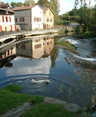 Eymoutiers - The River Vienne